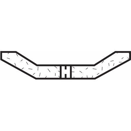 Dish Grinding Whl, 6x1/2x1-1/4, AO, 60G, PK5
