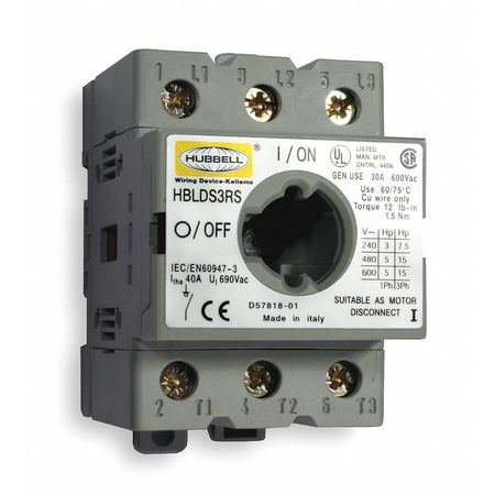 Replacment Disconnect Switch, 30A