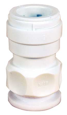 "1"" CPVC Ball Valve Adapter"