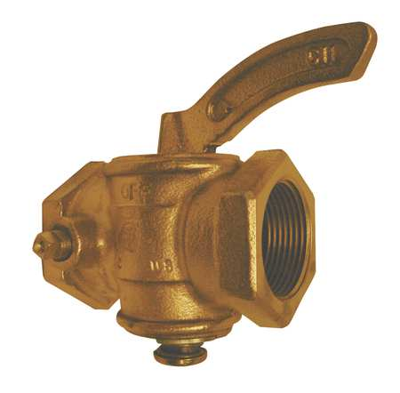 """Gas Cock, Size 1"""", FNPT, 2100000 Btu"""