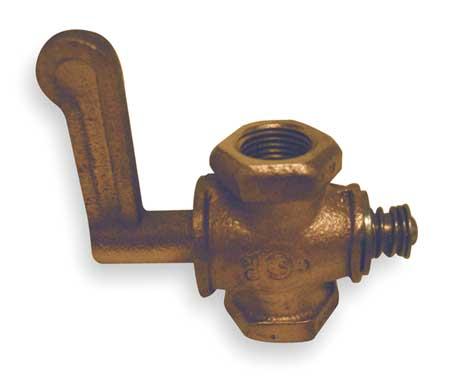 """Gas Cock, Size 1/2"""", FNPT, 274000 Btu"""