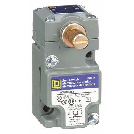 1NC/1NO Heavy Duty Limit Switch Rotary Head IP 67