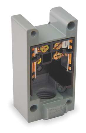 Limit Switch Base, 1NO/1NC