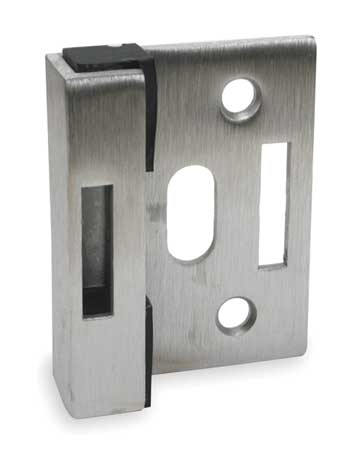 "2-1/2"" x 3"" Stainless Steel Flat Stop And Keeper"