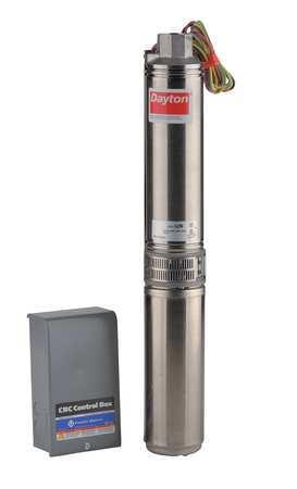Pump/Panel, Deep Well, 10GPM, 3/4HP, 230V