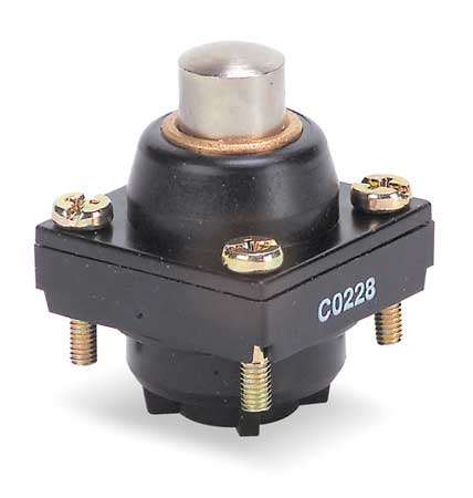 Limit Switch Head, Plunger, Top, 0.43 In