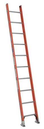 Ladder, 10 ft.H, 19 In. W, Fiberglass