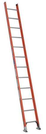 Ladder, 12 ft.H, 19 In. W, Fiberglass
