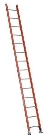 Ladder, 14 ft.H, 19 In. W, Fiberglass