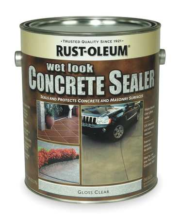 Sealer, 1 gal, Clear, Epoxy, Gloss