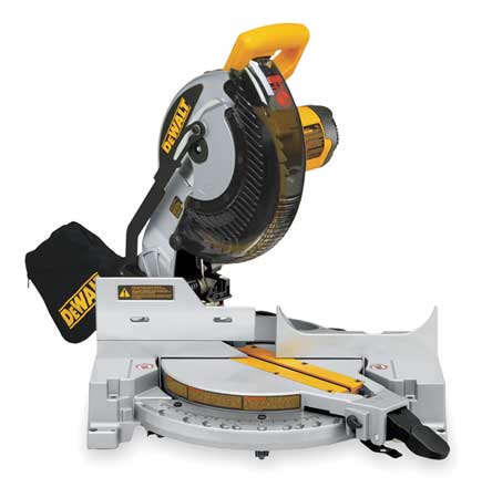 "15 Amp,  10"" dia. Compound Miter Saw,  120 V,  5000 RPM"