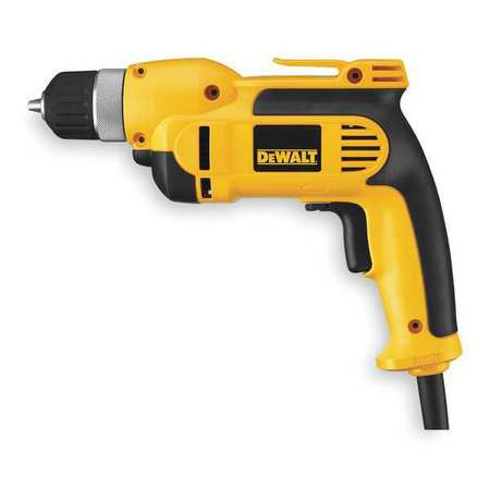 Electric Drill, 3/8 In, 0 to 2500 rpm, 8.0A