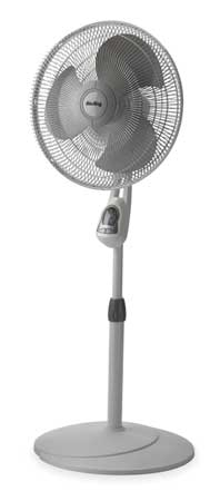 "16"" Oscillating Residential Pedestal Fan,  3 Speed"