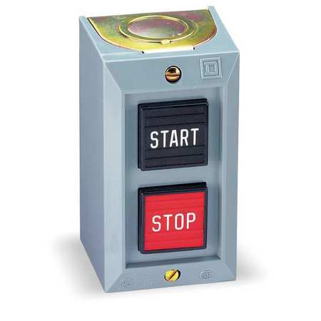 Push Bttn Cntrl Statn, 1NO/1NC, Start/Stop