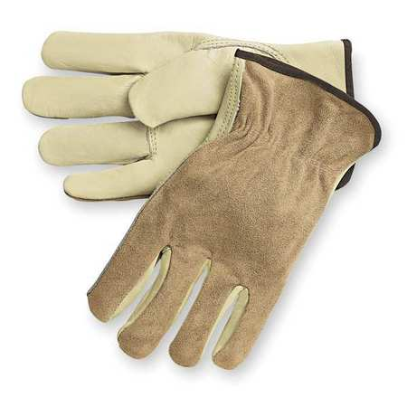 Leather Driver's Gloves Split Grain Cowhide