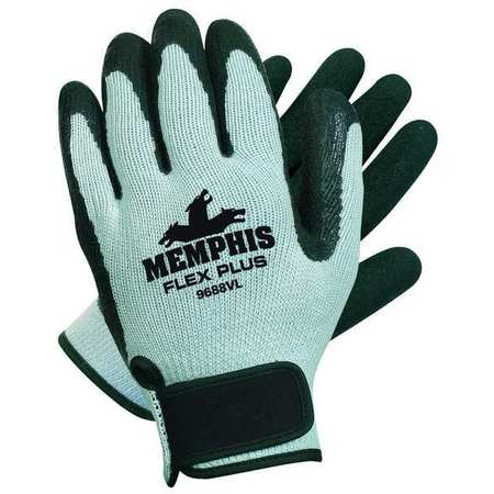 Flex Plus- Natural Rubber Palm-Coated Gloves