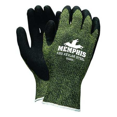 Cut Resistant Gloves, Black/Ylw, XL, PR