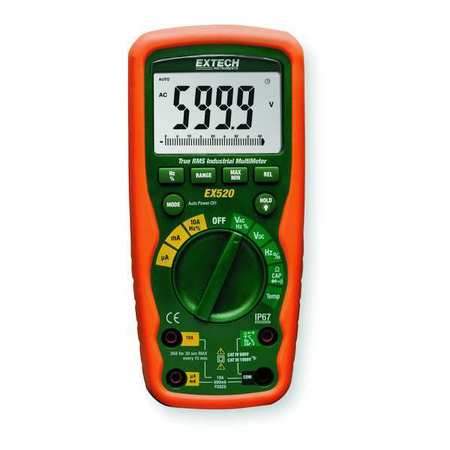 Digital Multimeter, 20A, 1000V