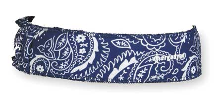 Headband, Blue, Terrycloth, One Size
