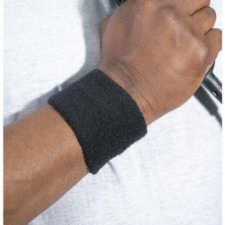 Wristband, Black, Universal, PK2