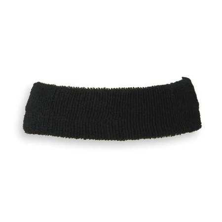 Sweatband, Black, Universal, Terrycloth