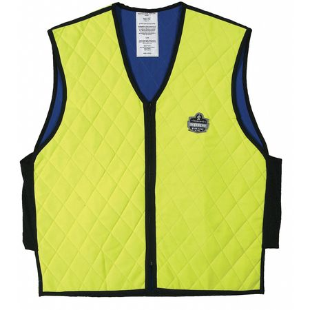 3XL Cooling Vest,  Hi-Vis Lime