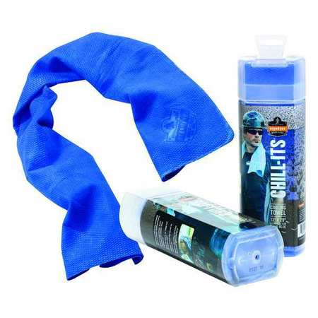 Cooling Towel, Blue, 13 x 29 In.