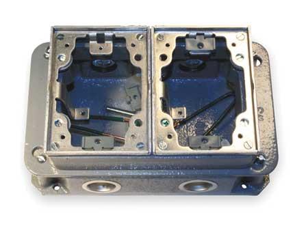 Floor Box, Cast Iron and Aluminum
