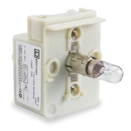 Lamp Module, 30mm, 120VAC/VDC, Clear, Incand