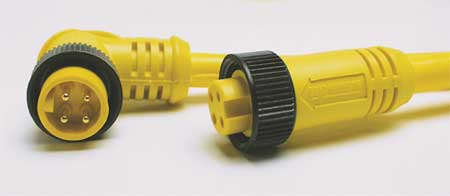 Extension Cordset, 3Pin, Receptacle, Female
