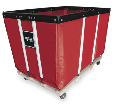 Heavy Duty Basket Truck, 24 Bu, Red Vinyl