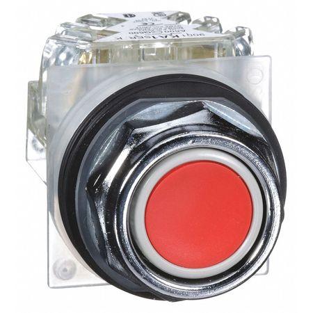 Non-Illuminated Push Button, 30mm, Metal