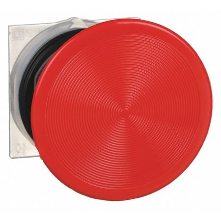 Non-Illum Push Button Operator, 30mm, Red
