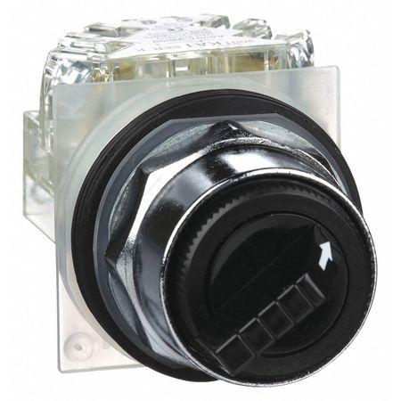 Non-Illum Selectr Swtch, 22mm, 2 Pos, Keyd