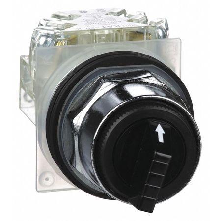 Non-Illum Selectr Swtch, 30mm, 3 Pos, Lever