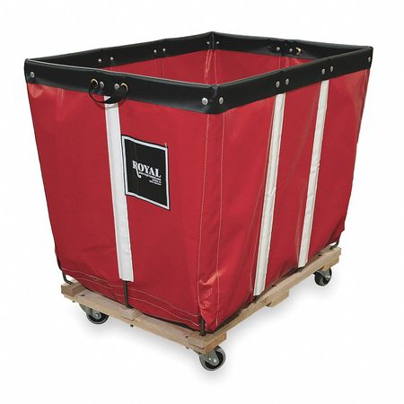 Basket Truck, 10 Bu. Cap., Red, 36 In. L