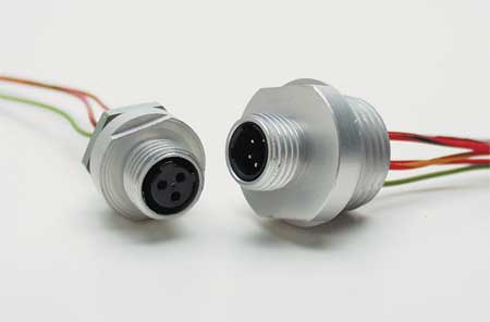 Cordset, 4 Pin, Receptacle, Female