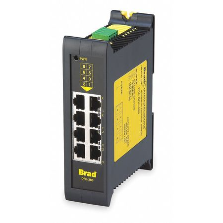 Ethernet Switch, Unmanaged, 8 Ports, RJ45