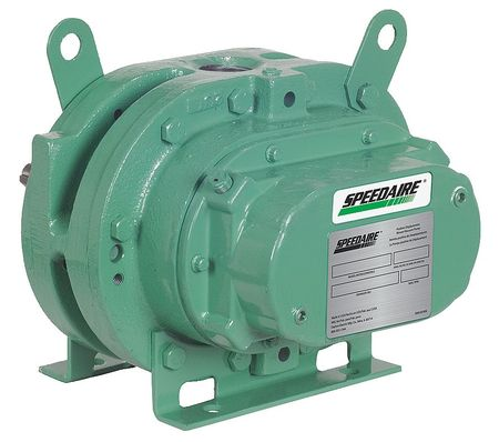 Blower/Vacuum Pump, 0.035 cu ft/Rev