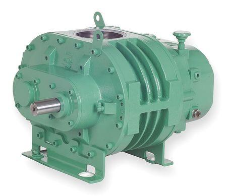 Blower/Vacuum Pump, 0.117 cu ft/Rev