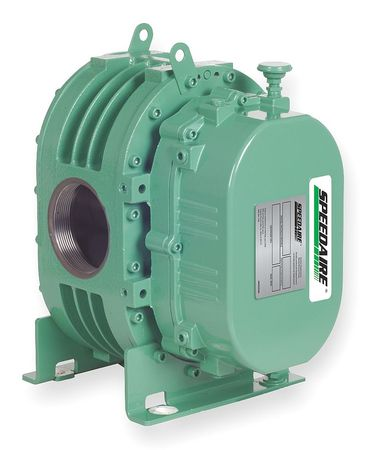 Blower/Vacuum Pump, 0.14 cu ft/Rev