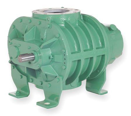 Blower/Vacuum Pump, 0.383 cu ft/Rev