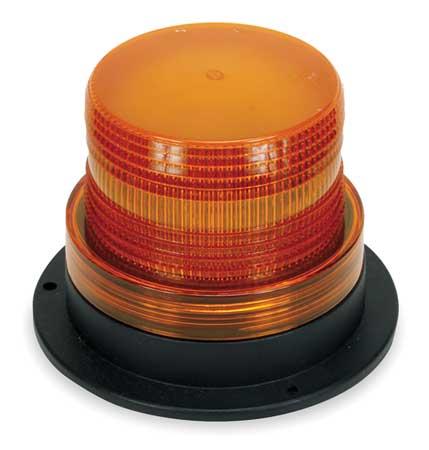 Warning Light, Strobe, Amber, 12 to 80VDC