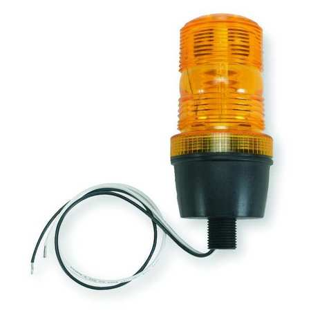 Warning Light, Strobe Tube, Amber, 120VAC