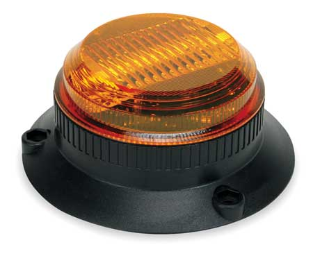Warning Light, Strobe, Amber, 12 to 80VDC