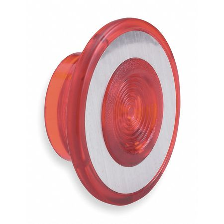 Illuminated Push Button Cap, 30mm, Red
