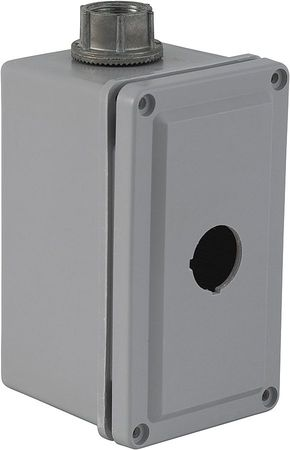 Pushbutton Enclosure, 30mm, 1 Hole, Plastic