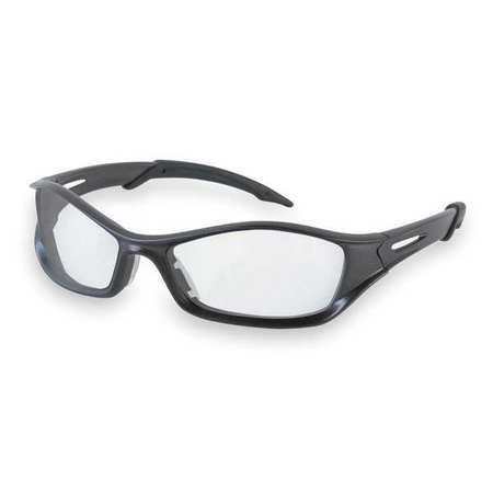 Crews Clear Safety Glasses,  Anti-Fog,  Scratch-Resistant