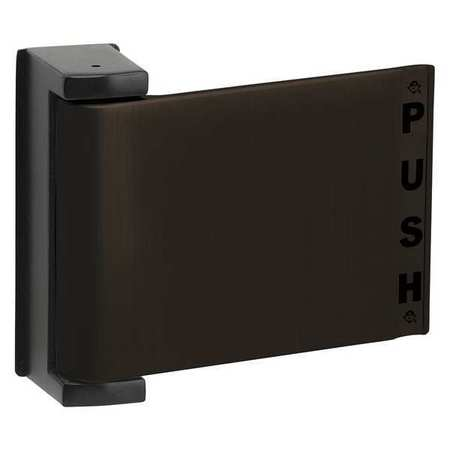 Push Deadlatch Paddle, LH, Dark Bronze