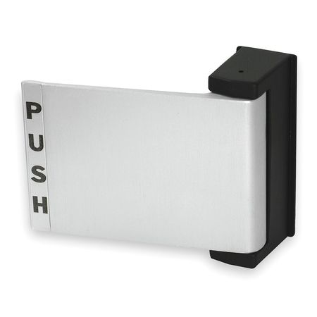Push/Pull Deadlatch Padle, Satin Aluminum
